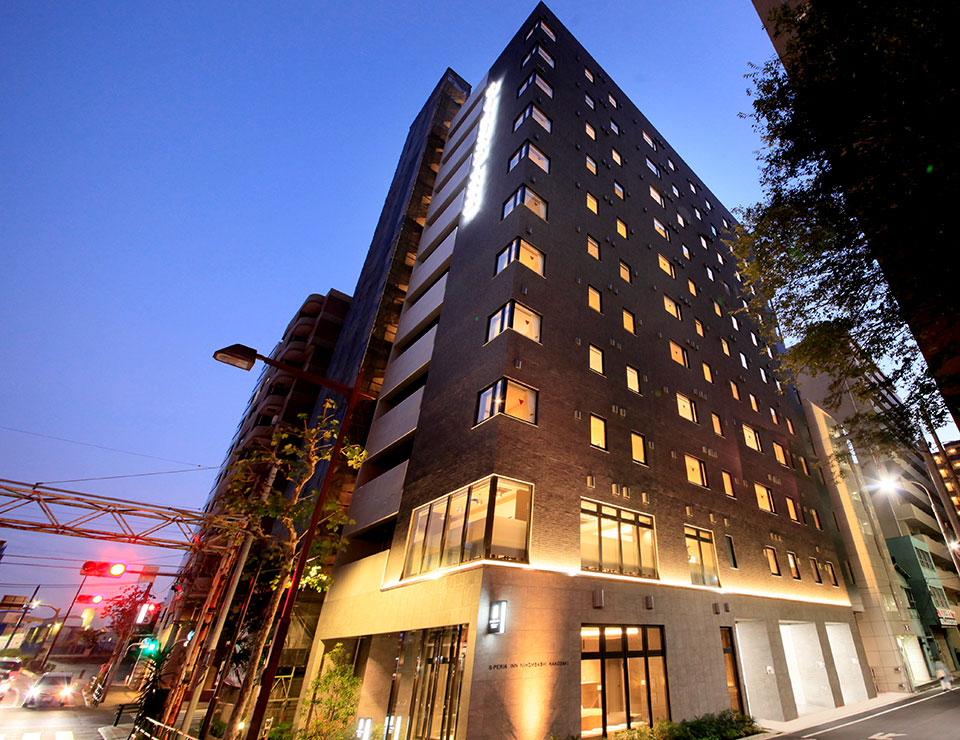 Easy access to airport 3 minutes walk from Tokyo City Air Terminal.